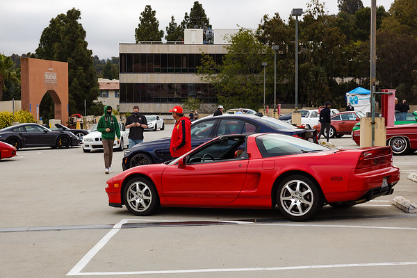 First C&C since the pandemic began...though I am uncertain if this is officially the Peninsula Concours d'Elegance Cars & Coffee or simply a gathering of cars owned by those who had been attending the events since September, 2019