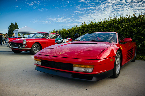Ferrari Testarossa was my pre-NSX dream car...my pre-driving dream car.  This is the kind of car that makes an impression on a child and defines one expectations of what a supercar should look like.