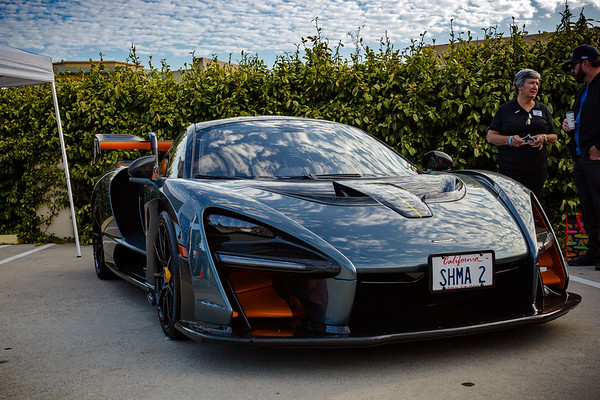 Looks like they are featuring a McLaren Senna this month...probably will be the most expensive and fastest modern car in the lot today