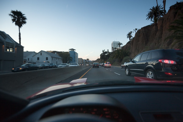 I forgot how much *fun* it is to drive on PCH through Santa Monica during rush hour