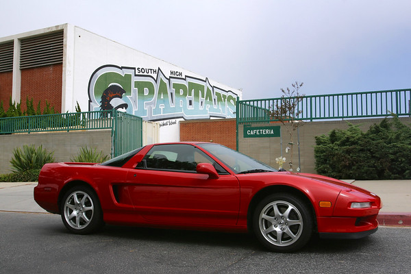 Damn, I finally take pics of my NSX in front of my alma-mater and it's overcast