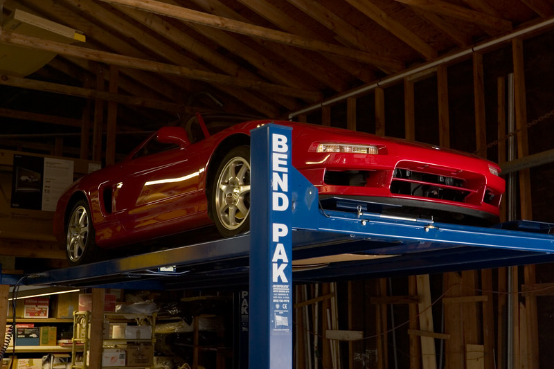 2006 08/12: Packing my NSX