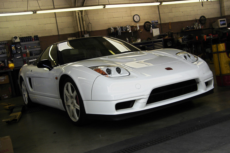 2007 06/04: While getting NSX serviced...