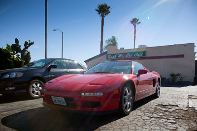 Photographic proof that I have actually risked driving and parking my NSX in Little Saigon