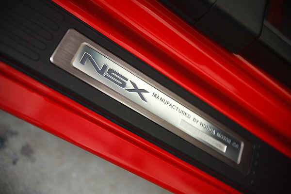 NSX is nice and clean, inside and out...though I do see a few drops I need to dry