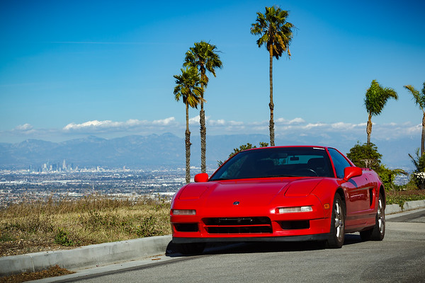 This is the city...with my NSX