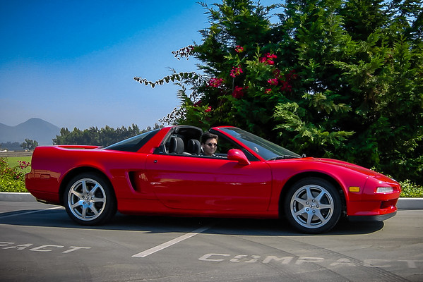 I have very few shots of me driving my car (Photo by Valerie Iwasaki)