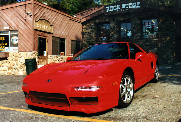 Akira's NSX at the Rock Store