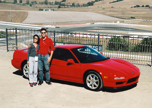 Akira's NSX at Infineon Raceway