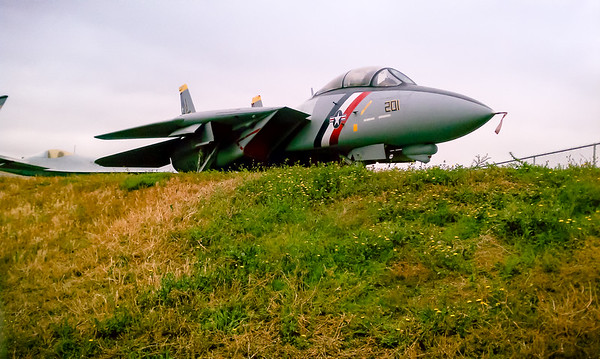 It's not every day you see your favorite fighter jet up close