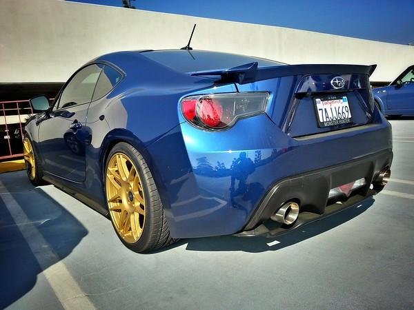 Aaron's tastefully modded Subaru BRZ