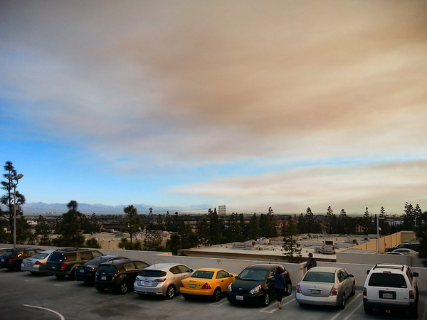 Feels like the smoke is going directly over our office...