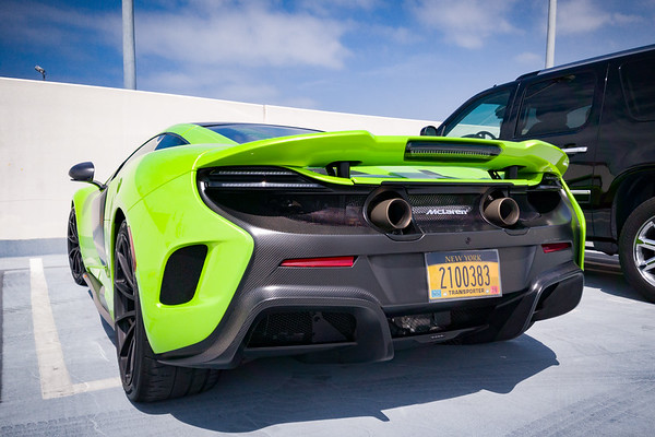 """McLaren 675LT (""""Long Tail"""")"""
