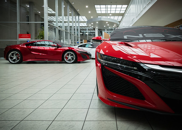 I am happy to finally see the two red variations Acura offers.  Up until now, I have seen black, white, and silver.