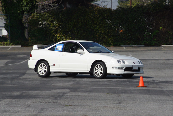 Wait, that's not an NSX! (1st time other marques get to compete in the CalCoastal NSX AutoX)
