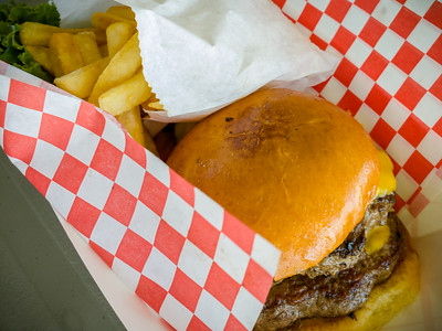 I opt for a cheeseburger...a solid choice.  A little greasy but very tasty.