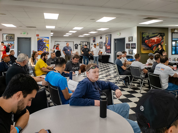 Roger Estrella and James Ubarro have stepped inside the classroom, but, as our hosts, they will be far too busy to participate in the HPDE