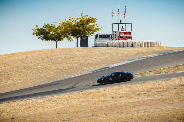 Nick Robinson in the prototype NC1, Thunderhill East Turn 5 Bypass