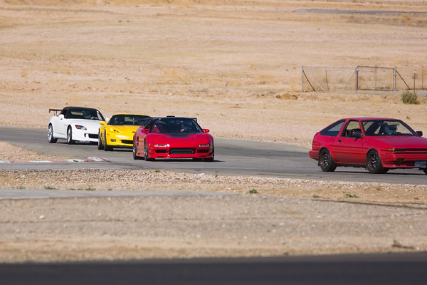 Alex is pursued by Mark's Vette and Aaron's (Nimbus) Stook