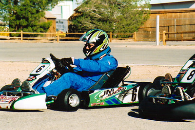 I find that shifter-karts require a LOT of focus...just to keep their two-stroke engine running.  While pumping the gas, squeeze the clutch, flick her into first, slowly release your grip on the clutch, and away you go.