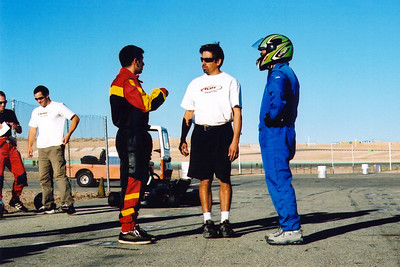 Bob and I ask Rudy for help with our braking problems