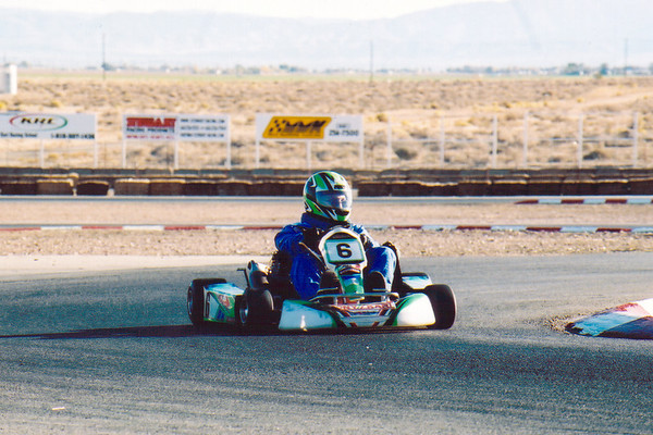 Three years after our CTR (Crash Team Racing) outing, I'm back on the Kart Track at Willow Springs with my Naughty Dog coworkers and some rivals from Blizzard (Photo by Phillipe Malenfant)