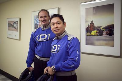 Dennis (Big_D) and Henry (jagtiger)