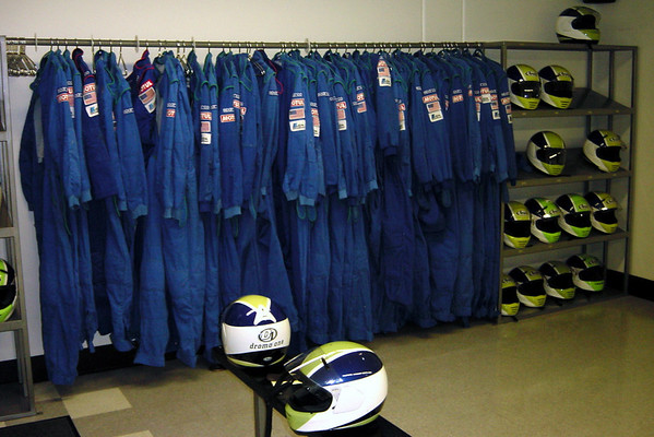 Nomex driving suits...this may be a lot safer than shifters, but better safe than sorry