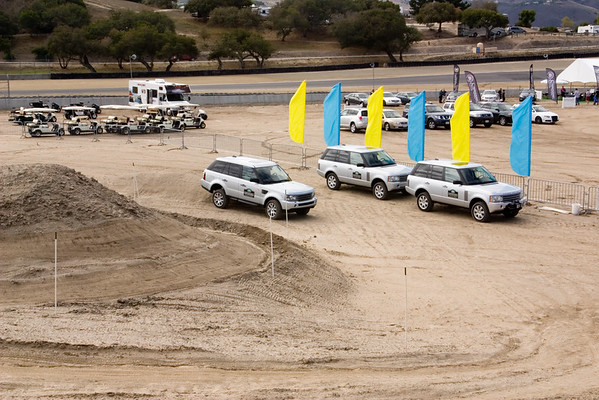 The Land Rover Experience is located near our corral