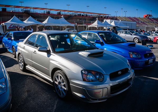 Subaru's car club has the second largest turnout
