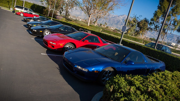 Some NSXers staying at the Fairfield have already departed