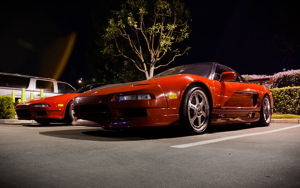 At first, I thought this was Alex V's NSX
