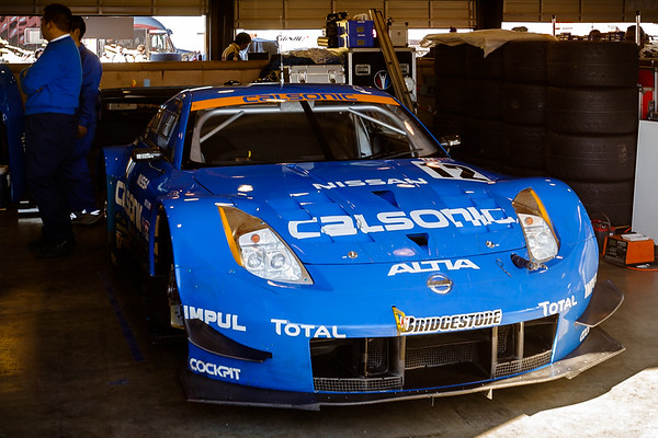 Calsonic's Z isn't as cool as their Skyline GT-R...