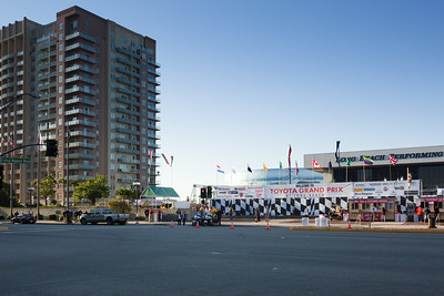 ...less than a block from the entrance to the Long Beach Grand Prix