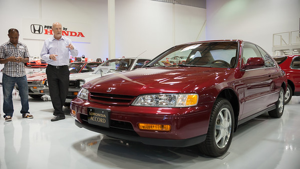 David believe that Honda has not produced a better styled Accord since this 1994 model was introduced.  Peter and I agree.