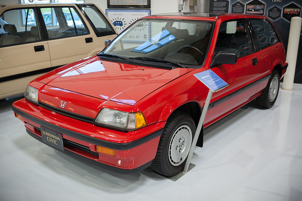 """1986 Civic SI.  This first sporty Civic is also known for starting the """"tuner movement"""""""