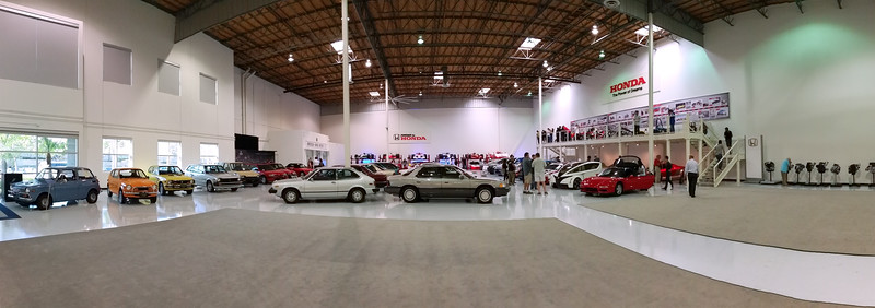 Quick smartphone panorama of the collection