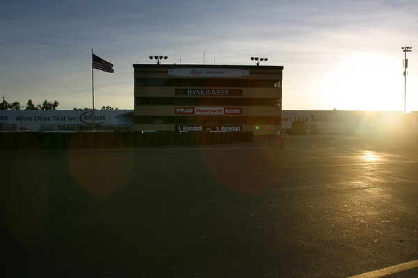 DAY 2 - Eager to walk the track, we track participants report to Infineon Raceway at 7:30am as ordered