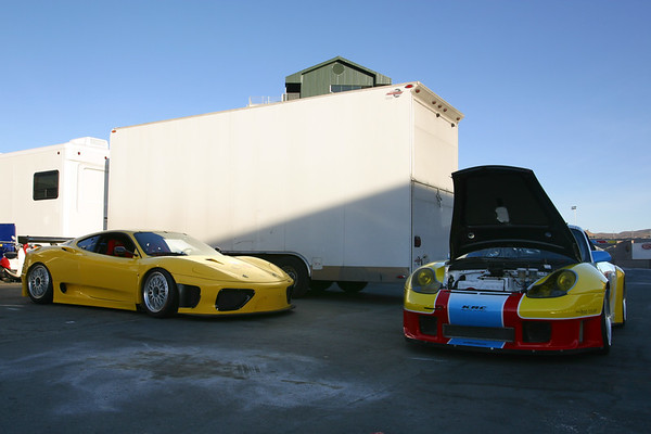 KRC Racing Schools (from Willow Springs) has brought some toys to show off