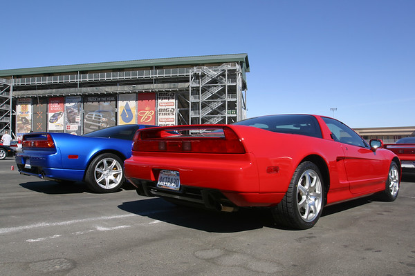 Only at an NSX gathering would I feel comfortable parking next to a car sporting a UCLA plate frame