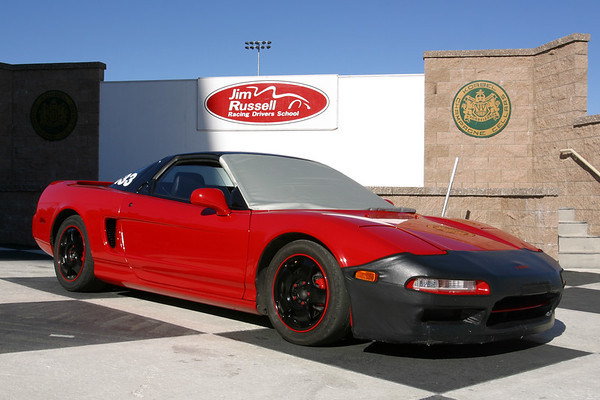 I wonder who parked their NSX in the winner's circle