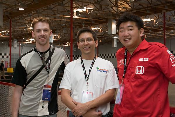 Mke (NeoNSX), Eric (akira3d), Nico (NSXBOX) (photo by Valerie Iwasaki)