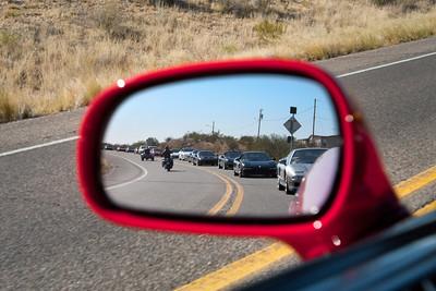 Mandatory mirror shot