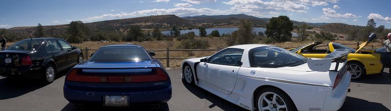 Arrival at Watson Lake panorama