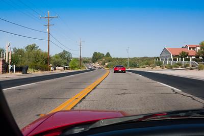 Cruising through Wickenburg on U.S. Highway 60