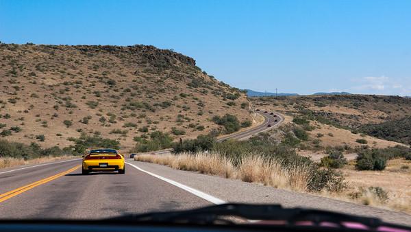 White Spar Highway (SR89) near Rancho El Oso Road (photo by Valerie Iwasaki)
