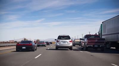 Advancing through traffic