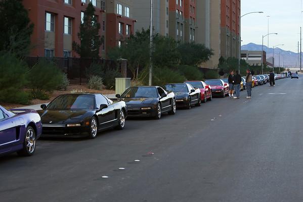 Just a few NSXs