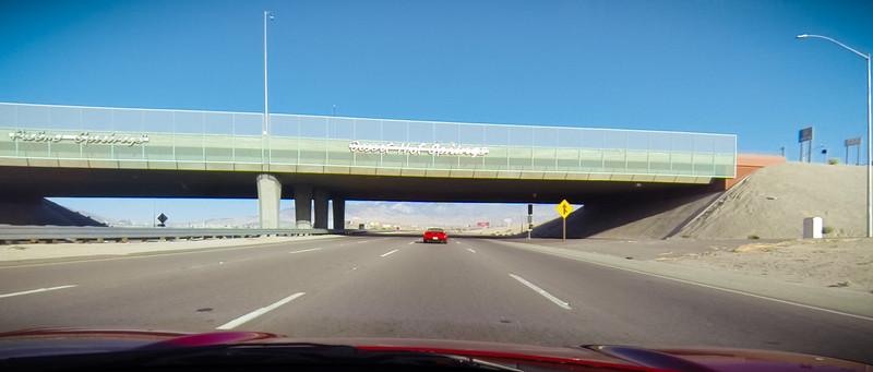GoPro Frame Capture: Heading west on Interstate 10