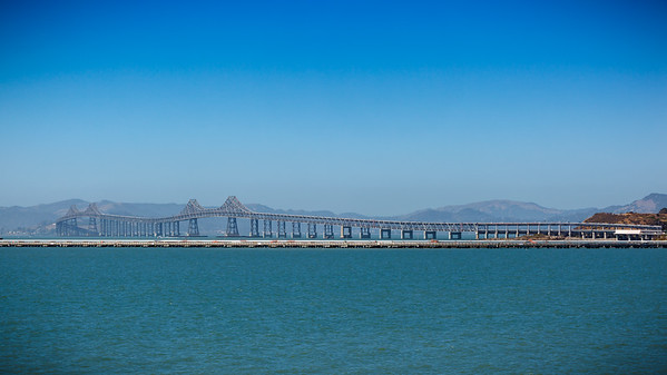 I do not think the Richmond-San Rafael Bridge has changed much since I first crossed it in 2003.  I do not think I will be crossing it during this trip.